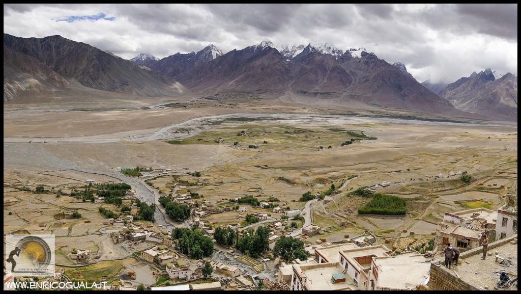 panorama dal karsha Gompa